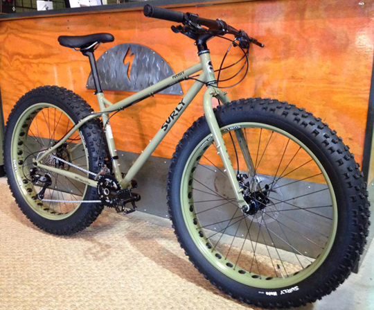 SURLY PUG OPS サーリー パグ OPS Canvas Green
